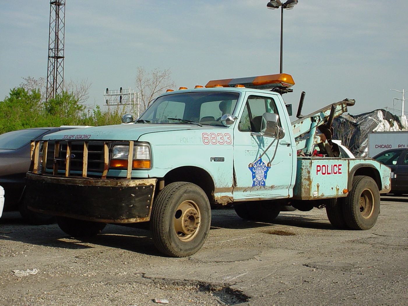 Photo motor maintenance division tow truck chicago for Chicago department of motor vehicles