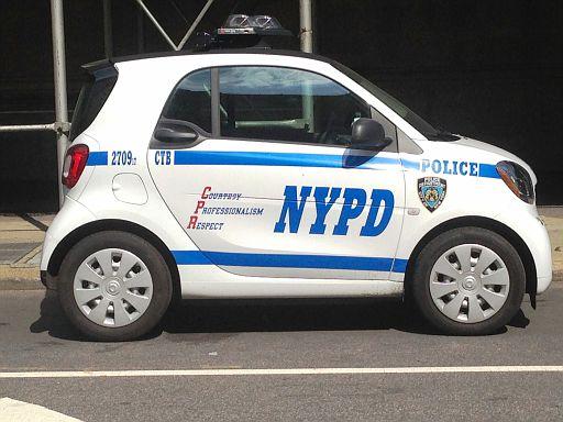 NY - NYPD Smart Car