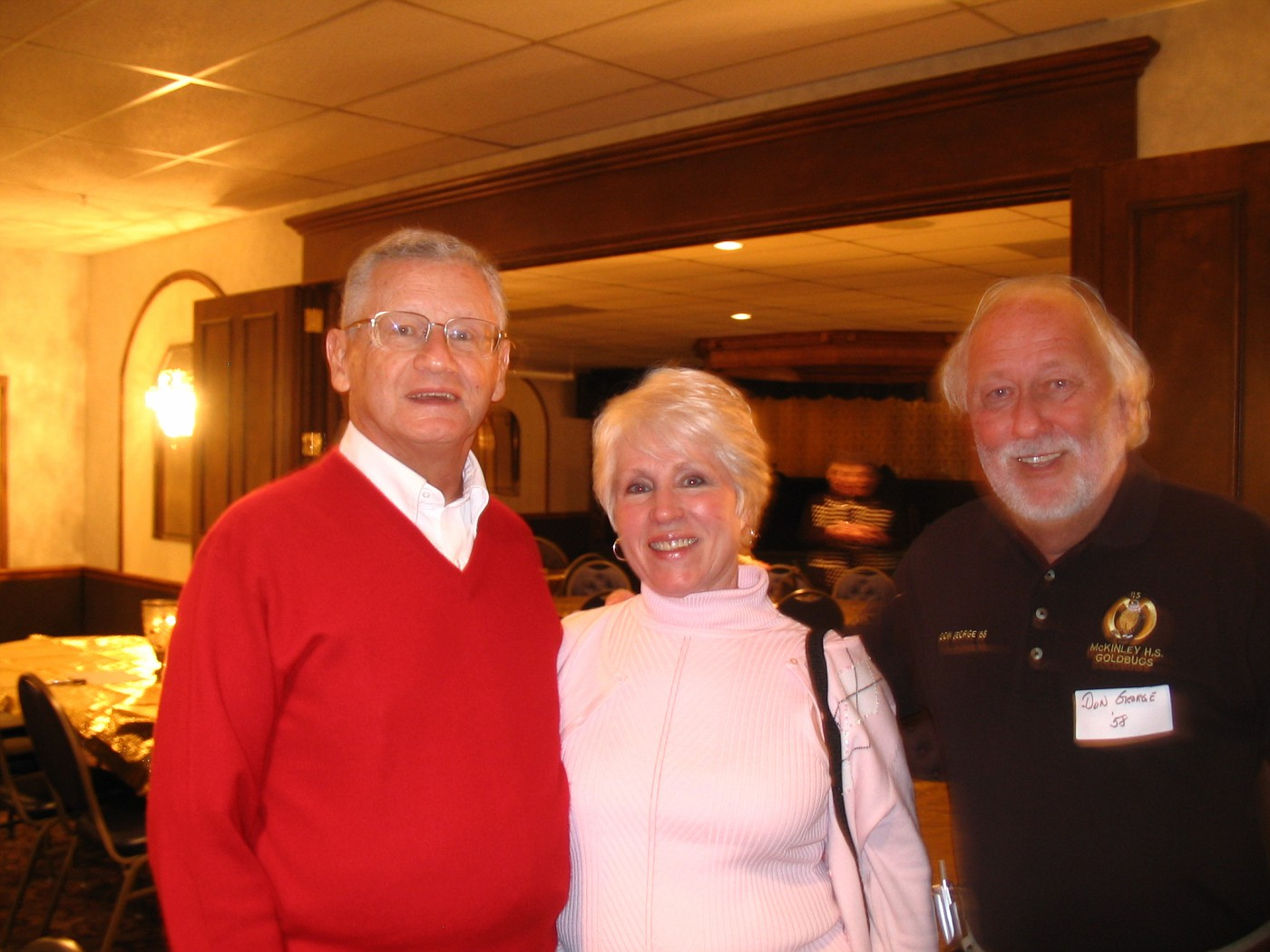 Lou Lewis, Opal Campbell, Don George