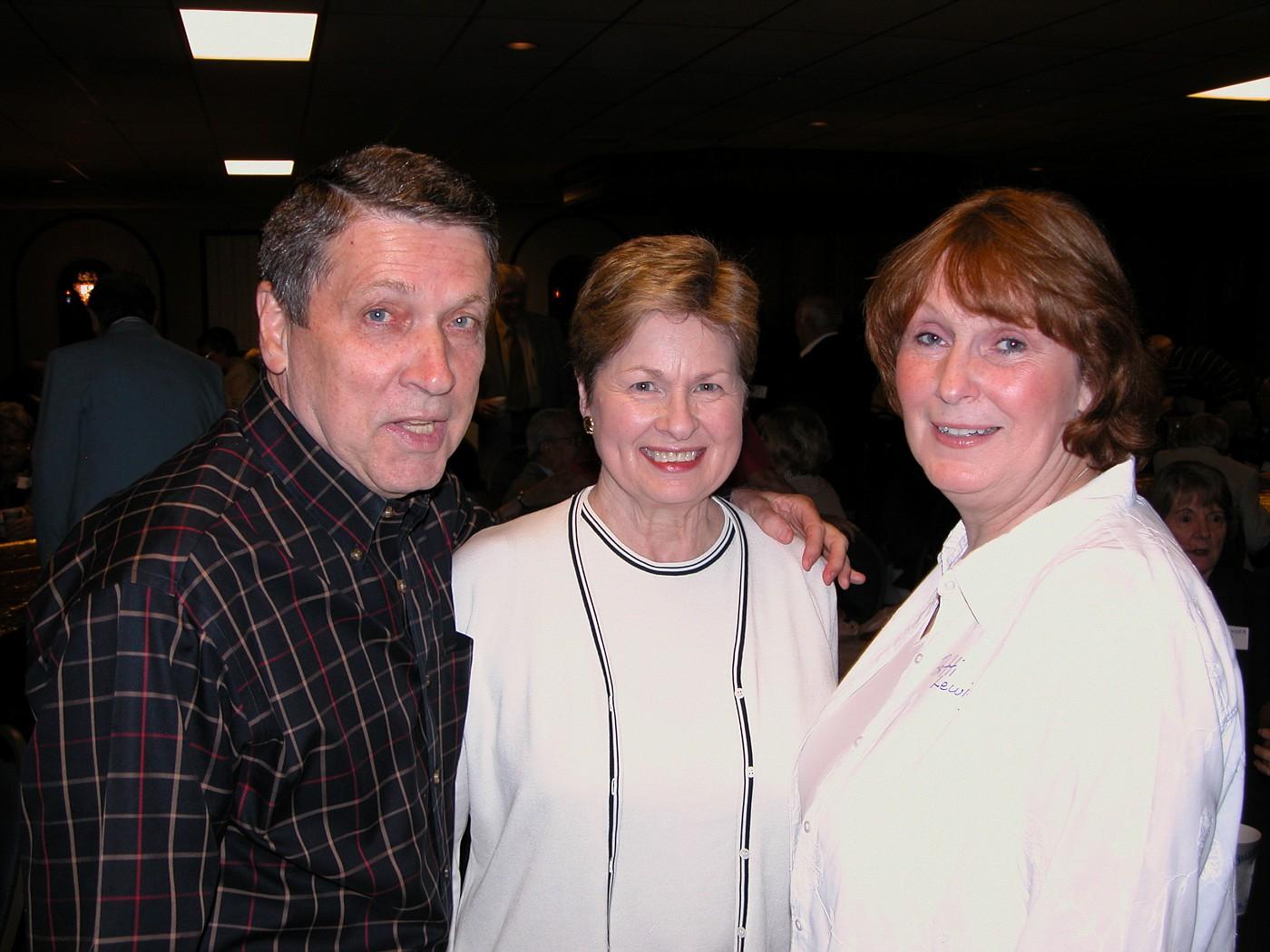 Don & Ginny Capone, Patti Lewis