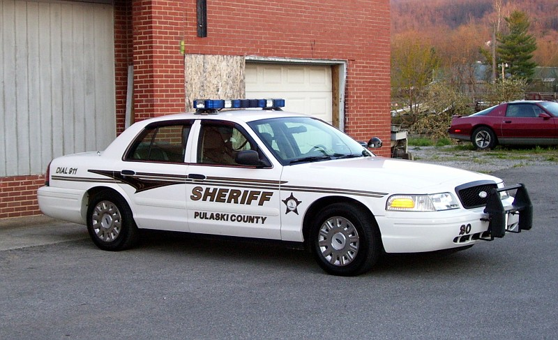 Ford Crown Victoria Police Interceptor >> Pulaski County
