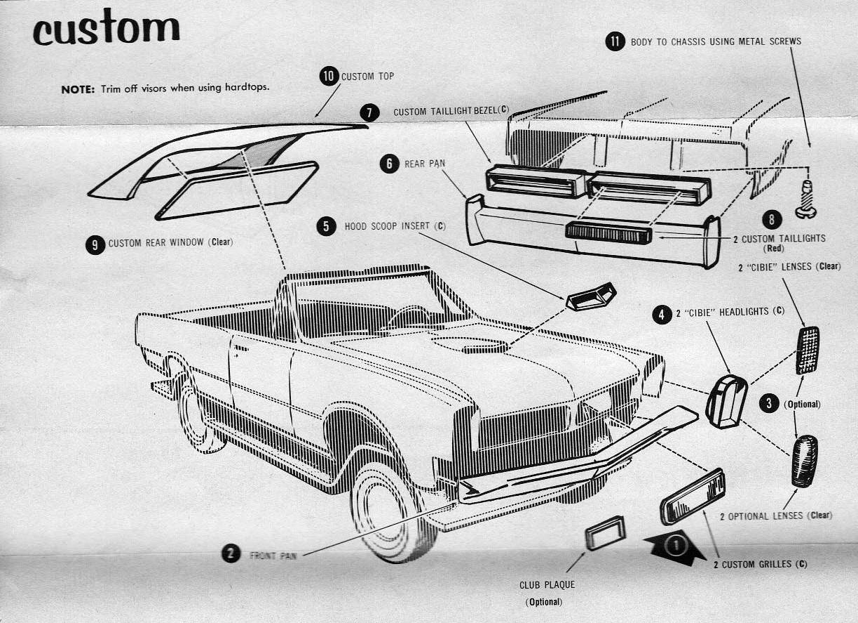 Pontiac 1965 GTO amt AMT1965PontiacTempestGTO006-vi