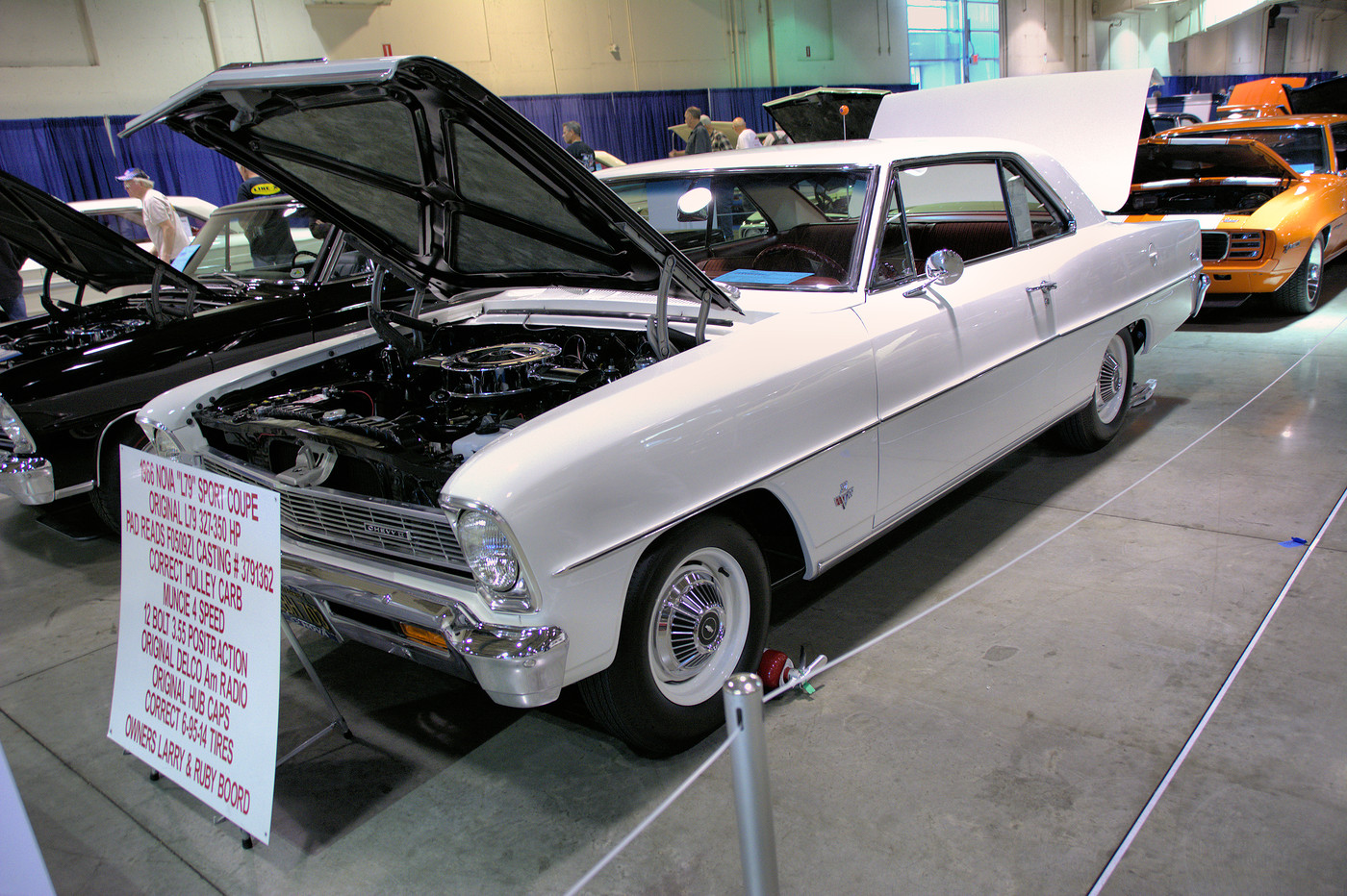 1966 Chevrolet Nova L79 sport coupe owned by Larry and Ruby Boord DSC 4876 -1