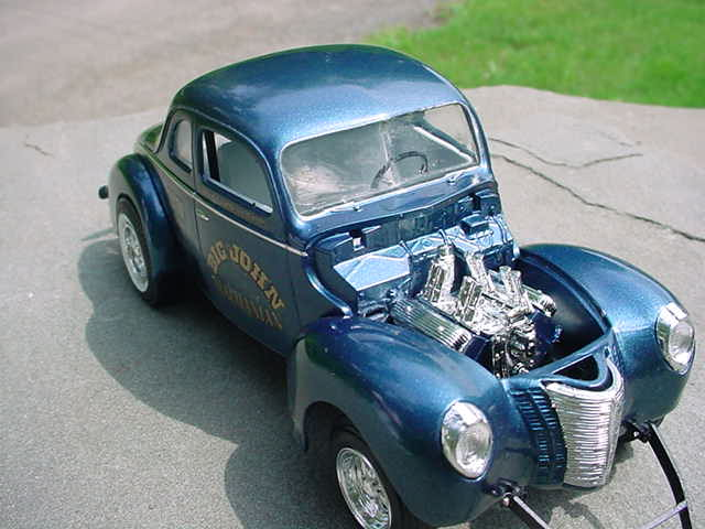 1940 Ford Coupe Gasser - Under Glass - Model Cars Magazine Forum