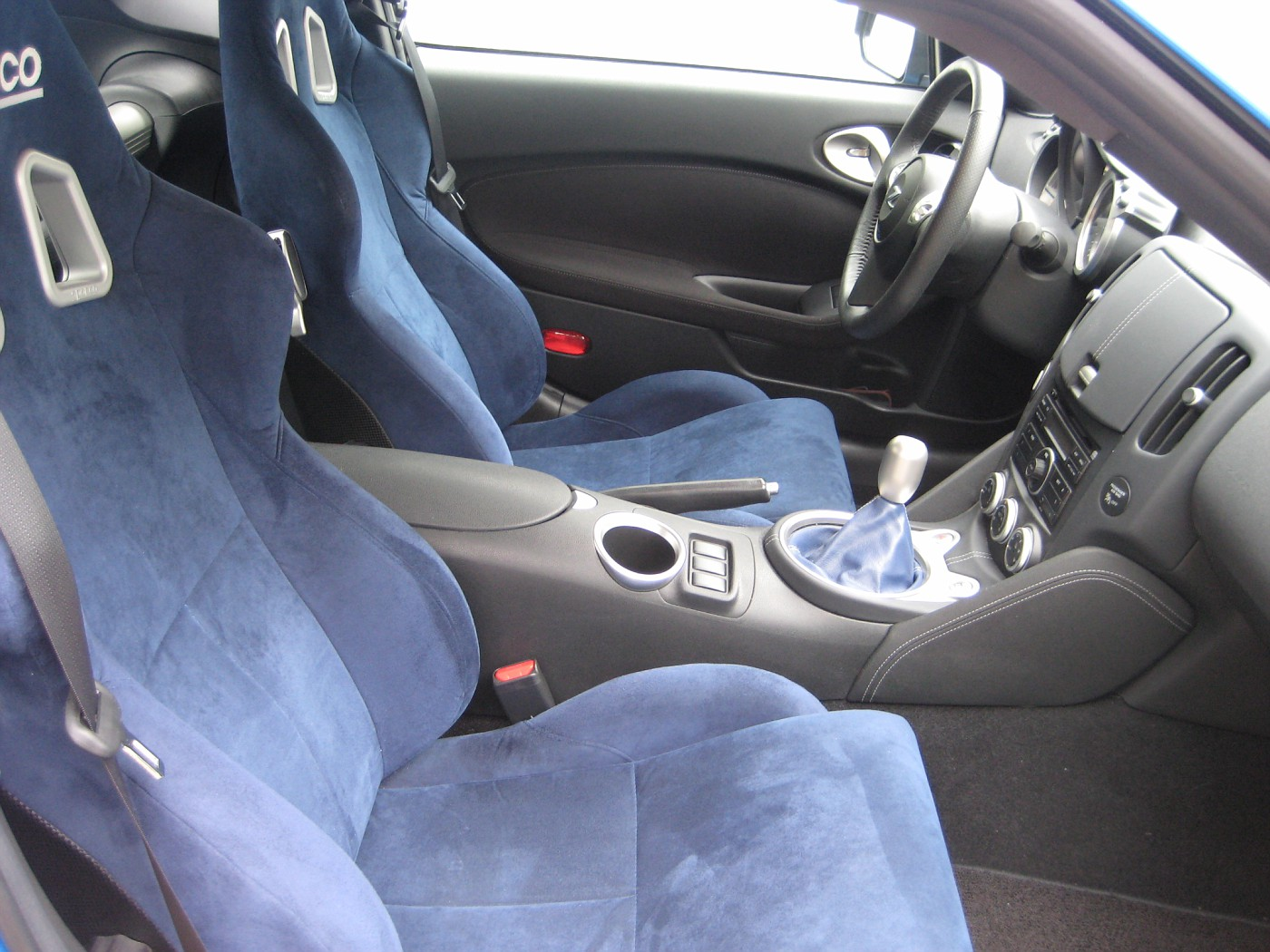 Sparco Milano Leather Seat Or Factory Leather Seats