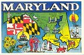 00- Map of MARYLAND (MD)