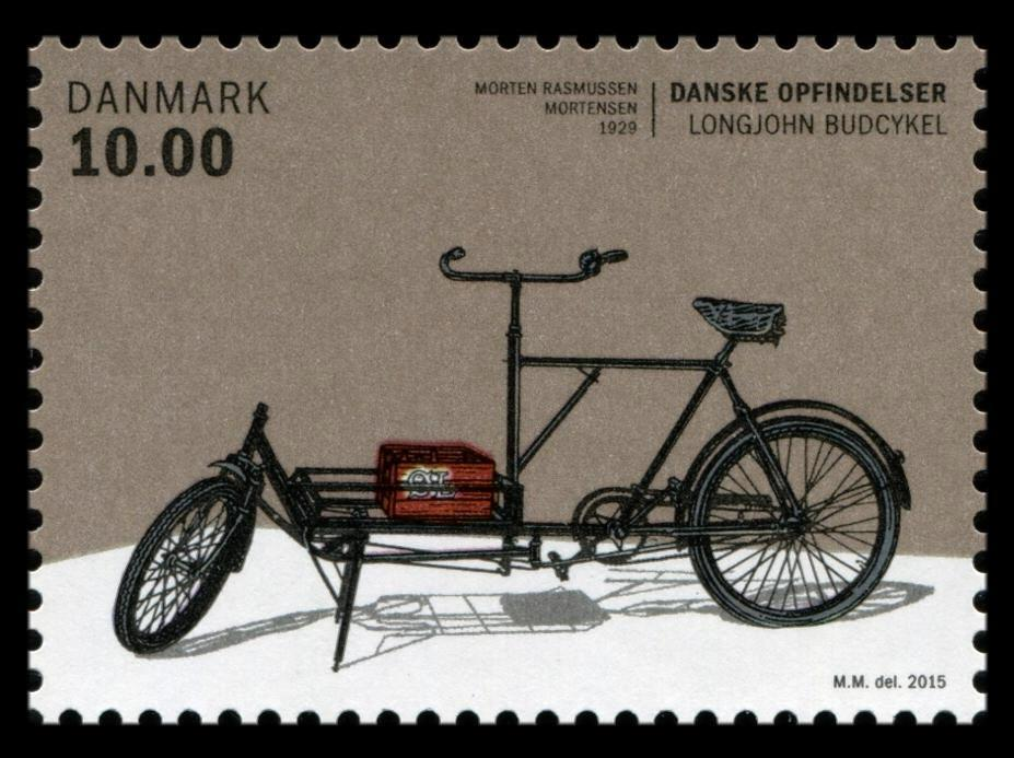 Danske Opfindelser - Longjohn budcykel 1929