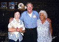 Mildred Hazel (FOUST) Lay, Claude Abernathy, and Katie (LAY) Abernathy