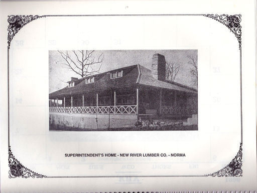 Superintendents Home in Norma  How it looked in the early 1920's era.