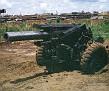 155MM-Rocket Or Mortar Damage-Pleiku Maint Yard