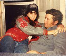 "Lisa BURRESS Hamilton and her Dad, Elmer Lee ""Bubby"" Burress, Jr."