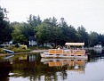 Pontoon on Lake Mitchell, Cadillac, Michigan, Summer 1979