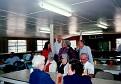 054 Norman Milous Rogers (far left), Beth Principi Reilly, Debra Munn, John Taylor Courson, Helen V. Register Courson, Annette Moree  Courson & Hollis Courson (back). Leila Gray Courson Futch, Treva Bell (Aunt T) Courson Vickers & Kenneth Tomlinson