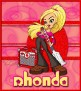 retro music girl vbd rhonda-vi