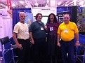 Wednesday November 16, 2011.  NJBA at the NJLM Convention in Atlantic City, NJ.   Helping out at NJBA Bee Booth ;-)