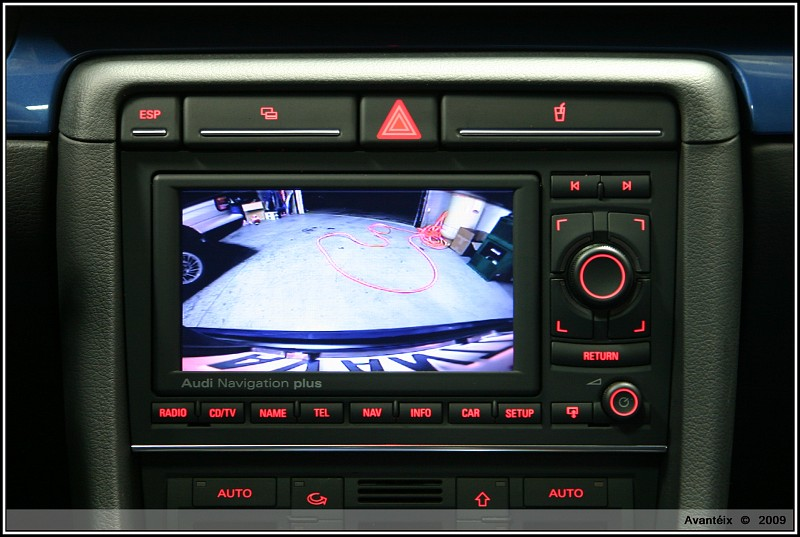 Rns E Amp Rear View Camera