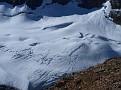 The fractured glacier