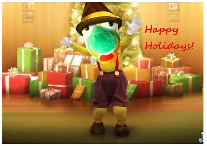 2011 Happy Holidays Snappie