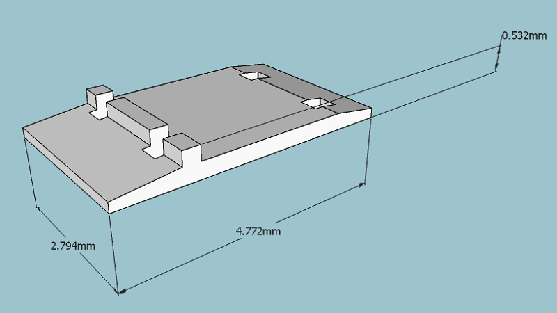 pin railroad tie dimensions on