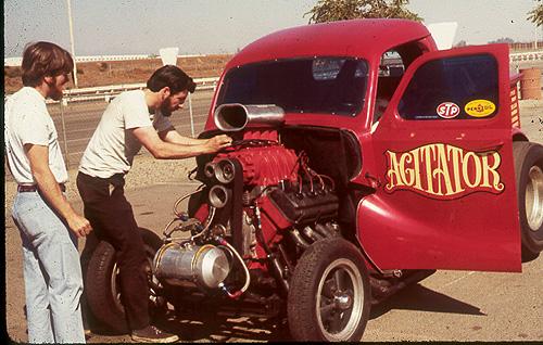 Agitator Austin pickup gasser #1
