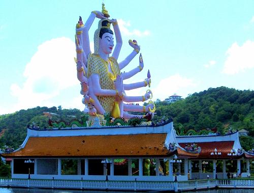 Multiple arms: Hindu