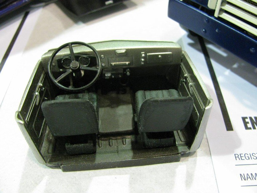 "Golden Age GMC 55 model 860 ""Cannonball"" Par Jeff Harper NNLEAST2011618-vi"