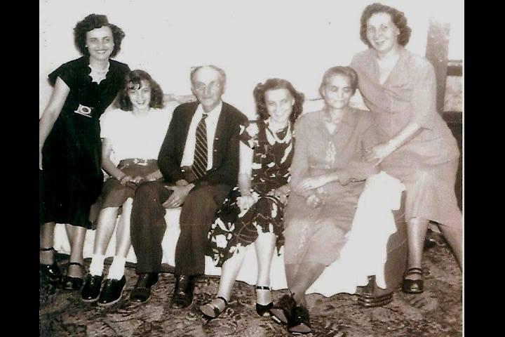 Rosetta Manuel-1923-2000-Marian Drager-John J -1886-1979-D  Pearl Lawson-1919-2009-Merdie Mertie Brown Lawson-1896-1979-Florena Jeffers