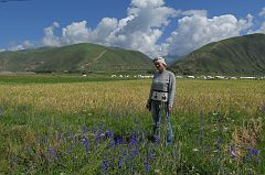 On the way to Tibet