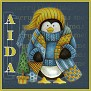 Stay Warm Penguin-Aida