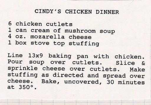 Cindys Chicken