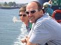 Kirsten & Bernd auf der Fähre