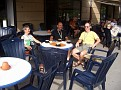 Capuccini im Hafenrestaurant Motala
