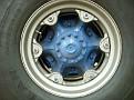Kramers TS Autocar wrecker rear wheel