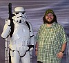 Me with a Stormtrooper. I'm on the right