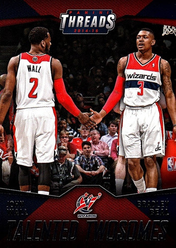 2014-15 Panini Threads Talented Twosomes #06 (1)