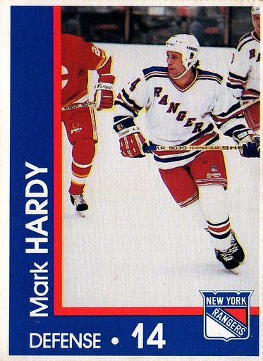 1989-90 Marine Midland New York Rangers #14 (1)