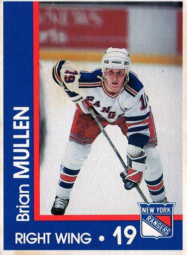 1989-90 Marine Midland New York Rangers #19 (1)