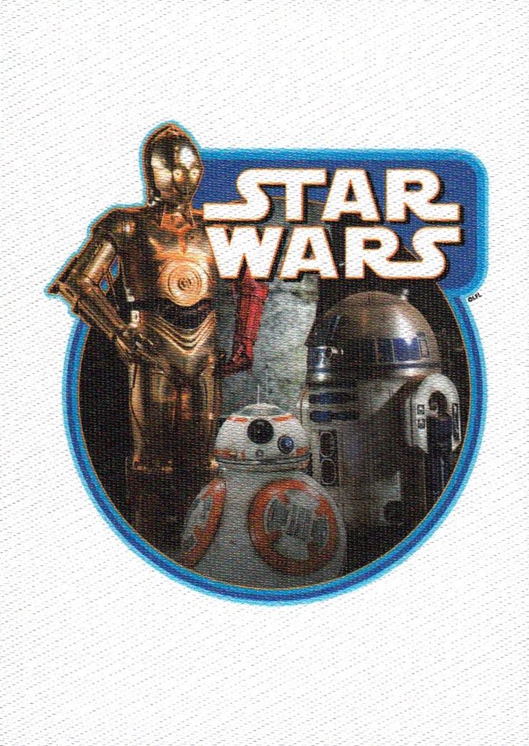 Journey to the Force Awakens Cloth Sticker #CS-1 (1)