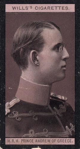1908 Wills European Royalty #087 (1)