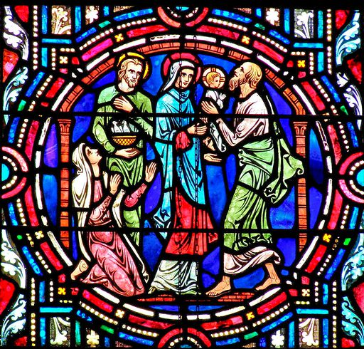 SAINTS PETER AND PAUL CHURCH - STAINED GLASS - 27