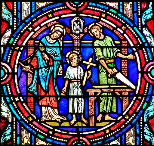 SAINTS PETER AND PAUL CHURCH - STAINED GLASS - 36