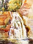 Waterfall, Enfield Glen, Ithaca, New York [c.1920-22]