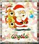 Santa with friendsTaAngela