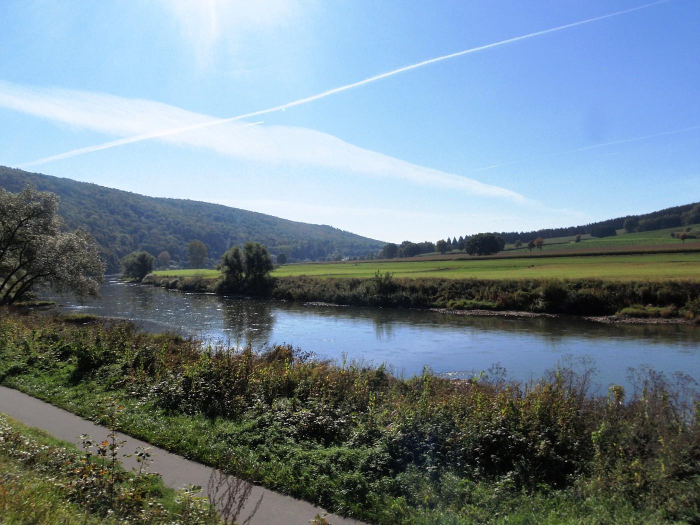 Weser bei Vaake