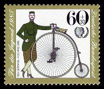 NSU Germania-Hochrad 1886