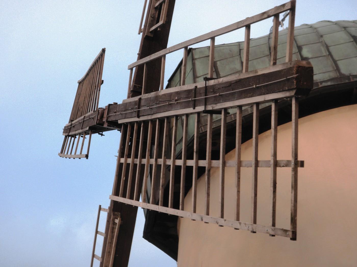 Flügel der Windmühle Tündern