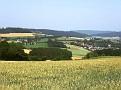 Blick vom Eilenberg auf Manfreds Wohnort