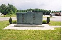 Back of Coal Miners Memorial