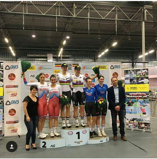Яковенко А  и Бадыкова Г  серебренные призёры международных соревнований в Бельгии