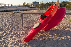 Kayaks and light